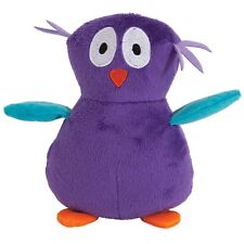 PETMATE ZOOBILEE SOFT BITE PLUSH OWL DOG TOY SMALL SIZE. TO THE USA