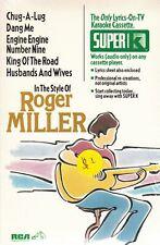Roger Miller [1995] by Karaoke (Cassette, Jan-1995, Super K)