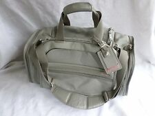 TUMI authentic excellent used once light gray ballistic nylon duffle weekend bag