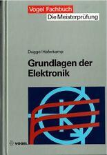 """Buch, Grundlagen der Elektronik - Vogel Fachbuch - Reihe  """"Die Meisterprüfung"""""""