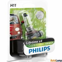 PHILIPS H11 LongLife EcoVision Car Headlight Bulb 4x longer Single 12362LLECOB1