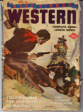 BLUE RIBBON WESTERN (OCTOBER/1944) MAT RAND, C. C. STAPLES, RANGER Z. ROBIN
