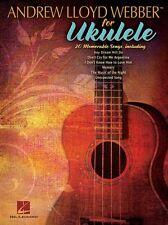 Andrew Lloyd Webber Ukulele Learn Play Phantom of the Opera UKE Music Book