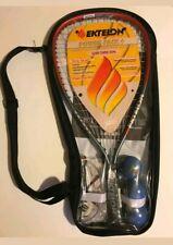 New! Ektelon Pro Power Pack + Energy Racquet Power Level 900 Racquetball Set