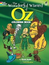 The Wonderful Wizard of Oz Coloring Book (Dover Classic Stories Coloring Book) b