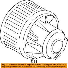 FORD OEM Evaporator-Blower Motor GV6Z19805AA