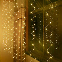 Creative Party Wedding Curtain Fairy Lights USB String Light With Remote Control