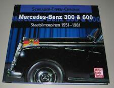 Bildband Mercedes 300 Typ W 189 / 600 Typ W 100 Staatslimousinen 1951 - 1981 NEU