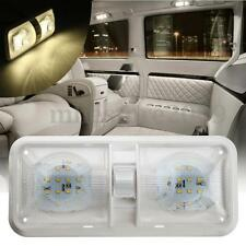 Double Dome Ceiling Light 48LED 2835 SMD 12V For RV Boat Camper Trailer Marine