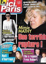 ICI PARIS N° 3668--MIMIE MATHY/CORDULA/JAMEL & MELISSA/DELORME & YVES ROBERT