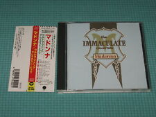 MADONNA CD The Immaculate Collection 1990 OOP Japan WPCP-4000 OBI
