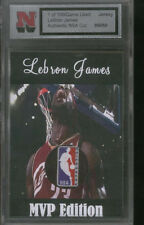 LEBRON  JAMES  THE  KING  MVP JERSEY  PATCH  NBA LOGO CLEVELAND CAVS  VERY RARE!