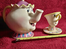 New listing Mrs Potts And Tea Pot-Beauty And Beast Disney Collectibles
