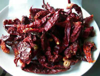 500gm - KASHMIRI MIRCH RED CHILLIES CHILI PEPPERS SPIES Whole Sun Dried
