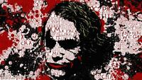 The Joker Quotes Batman Canvas Wall Art Film Movie Poster Print Heath Ledger 90s
