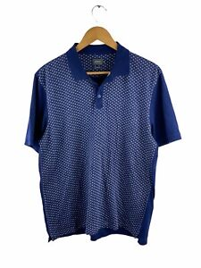Arrow Polo Shirt Men's Size 2XL Blue Casual Golf Collared Short Sleeve Slim Fit