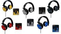NEW Coby Aluminum Foldz Stereo Over Ear FoldingHeadphones Built-In Mic CVH-804