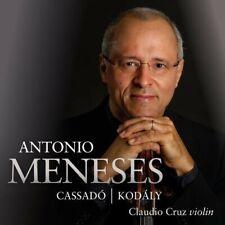ANTONIO/CRUZ,CLAUDIO MENESES - CASSADO/KODALY  CD NEU CASSADO,GASPAR/KODALY