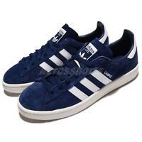 adidas Originals Campus Dark Blue White Navy Men Unisex Classic Shoes BZ0086
