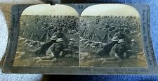 Early Keystone Wwi On The Moselle Doughboy Resting For Review Steroescope Card
