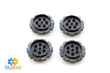 Lego Technic Black Tread Sprocket Wheel Large  4x Pack LEGO® Part 57519