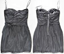 MARC JACOBS Womens Dress Cocktail Evening Prom Strapless Black Silk Cotton 8 EUC