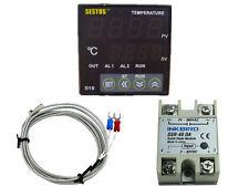 Sestos D1S-VR-220 Digital Pid Temperature Controller + k sensor + 40 ssr temp