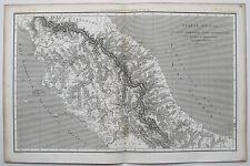 1807 ANTICO CENTRO NORD ITALIA ANTICA MAPPA da Macpherson