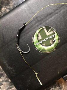 5 x CARP Fishing Kicker Blowback Rigs  size 8 Barbles With 20lb Braid