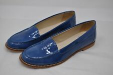 LUCCINI Blue Patent Leather Loafers Moccasins size 40/10 (4059) $100+