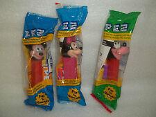 Pez Disney Lot / Mickey / Minnie / Goofy /