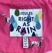 Joules Ladies Dogs Raincoat Size 10