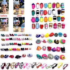 Lot 12Pcs LOL Surprise Accessory Outfit dolls 3 Dress 3 bottle 3 Glasses 3 shoes