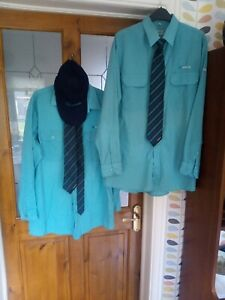 Arriva Bus Company Uniform Shirts Ties And Cap Bundle