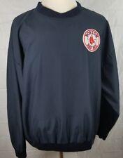 North End mens Xl blue Boston Red Sox windbreaker jacket Baseball Fan Apparel