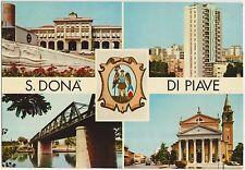 S.DONA' DI PIAVE - VEDUTINE (VENEZIA) 1968