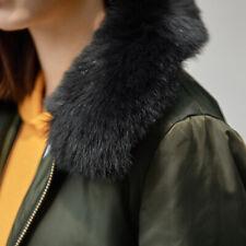 Real Vulpes Lagopus Fox Fur Collar Women Scarf Shawl Stole Wrap Winter Gift Neck