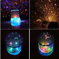 children love star night light lamp projector space solar system good gift!