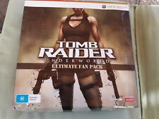 Tomb Raider Underworld Ultimate Fan Pack para X-Box-360 Muy Raro y Muy Pocos
