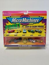 1998 Micro Machines #17 Stock Cars 5pack with 5 free cars