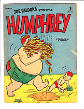 "Humphrey No 13 1957 - Austrailian-""Hot Dogs Cover ! """