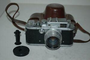 Zorki-3 Vintage 1954 Soviet Rangefinder Camera, Jupiter-8 Lens. 5419285. UK Sale