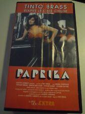 VHS film PAPRIKA 1991 Tinto Brass Debora Caprioglio SUPER VIDEO  L/10