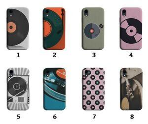 Vinyl Phone Case Cover Vinyls Record Records DJ Music Retro Vintage Disc 8094a