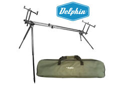 NEW ROD POD DELPHIN RPX-3 FOR 3 RODS with Carry Bag