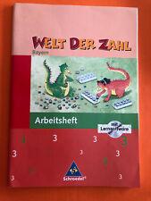 Welt der Zahl 3, Arbeitsheft, Mathematik. Grundschule