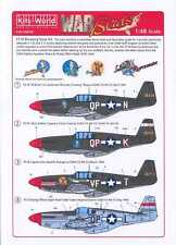 Kits World Decals 1/48 P-51B MUSTANG NOSE ART 4th Fighter Squadron