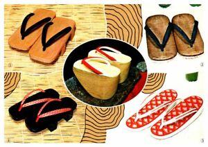 JAPAN Footgear Geta Wooden Clogs Zori Pokkuri for Geisha Girls Men's Women's
