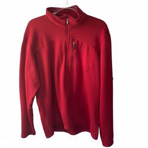 Patagonia Men's Red R1 Regulator Pullover Size XL