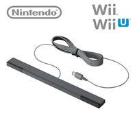 OFFICIAL  Nintendo Wii U Sensor Bar Genuine OEM 6 moth warranty RVL-014 Black